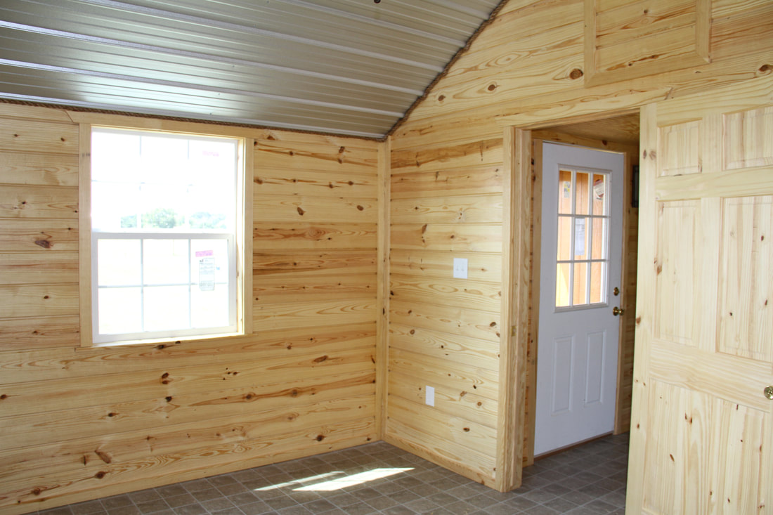 Cabins Ok Structures Portable Buildings